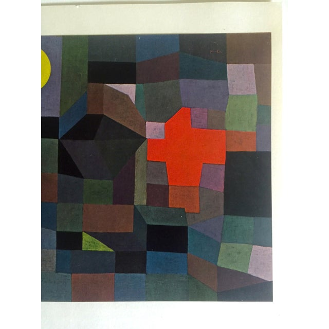 """Paul Klee Vintage 1967 Original Lithograph Print """"Fire at Full Moon"""", 1933 - Image 3 of 7"""