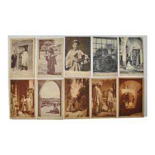 """Circa 1910 Lehnert & Landrock """"Faces of North Africa"""" Photo Cards- Set of 10 For Sale"""