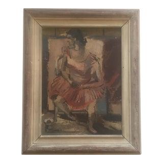 Original Louis Donato 1937 Modernist Painting For Sale
