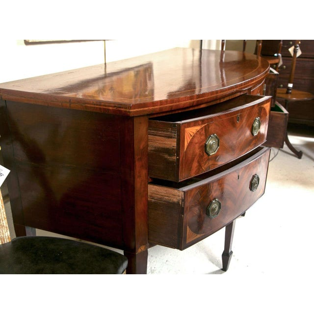 English Georgian Style Mahogany Sideboard - Image 5 of 9