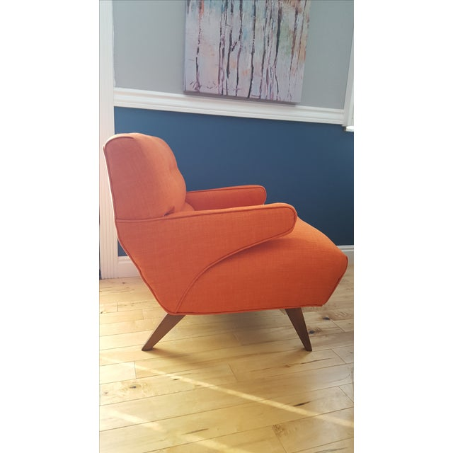 Custom Mid-Century Atomic Lounge Chair - Image 5 of 7