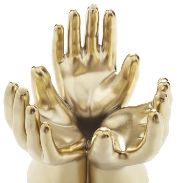 Arteriors Hands Vase For Sale - Image 11 of 13