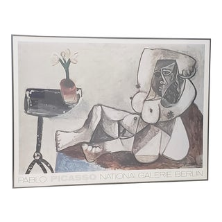 "Vintage Large Scale Picasso ""National Galerie, Berlin"" Exhibition Poster C.1989 For Sale"