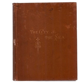 """1881 """"The City and the Sea"""" Collectible Book For Sale"""