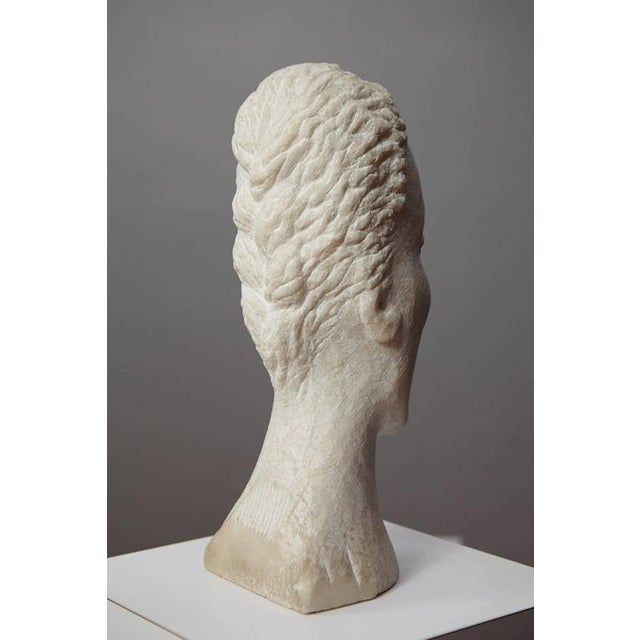 Marble Dolores Singer, Head II, 1993 For Sale - Image 7 of 11