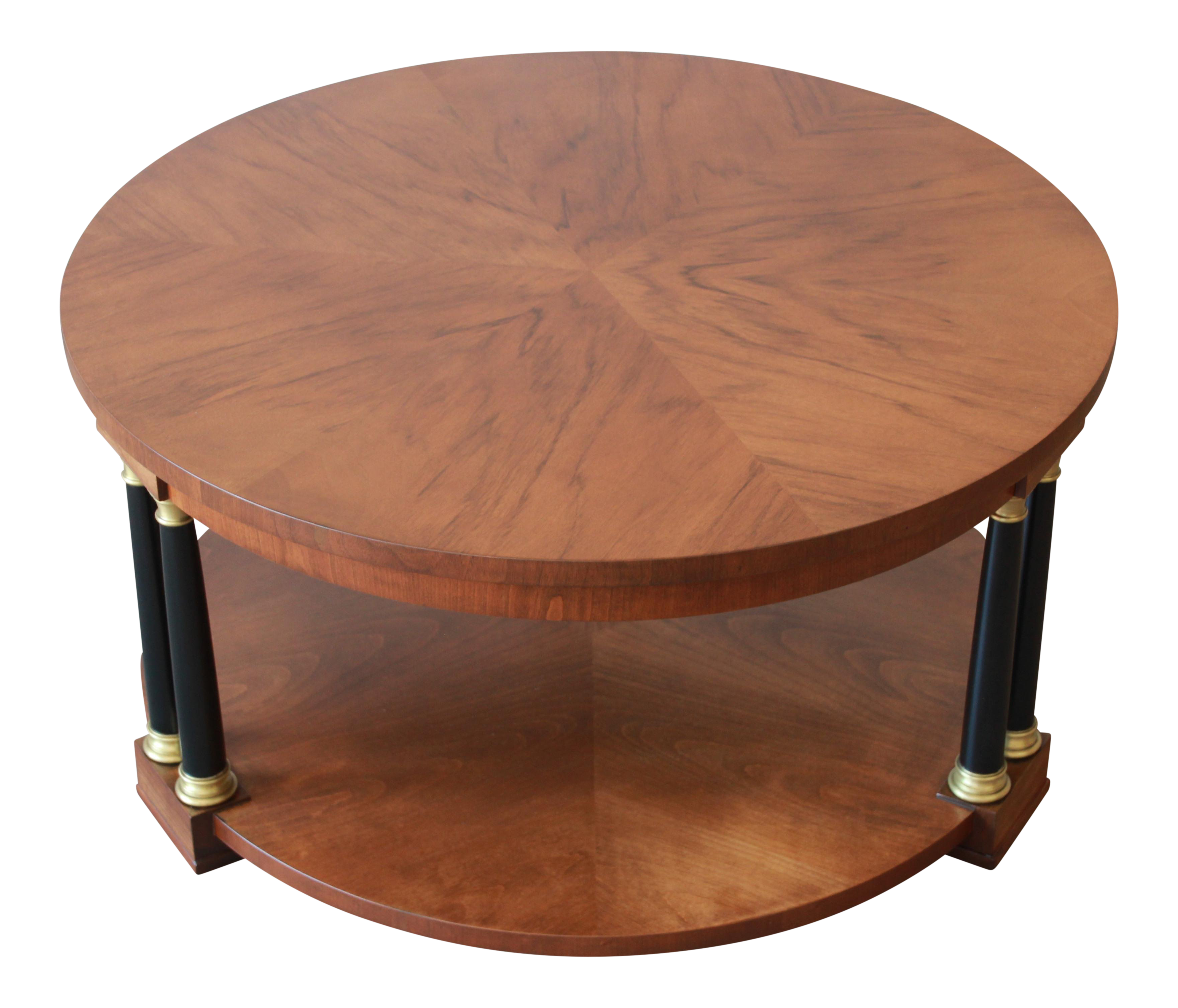 Charmant Baker Furniture Round Neoclassical Coffee Table