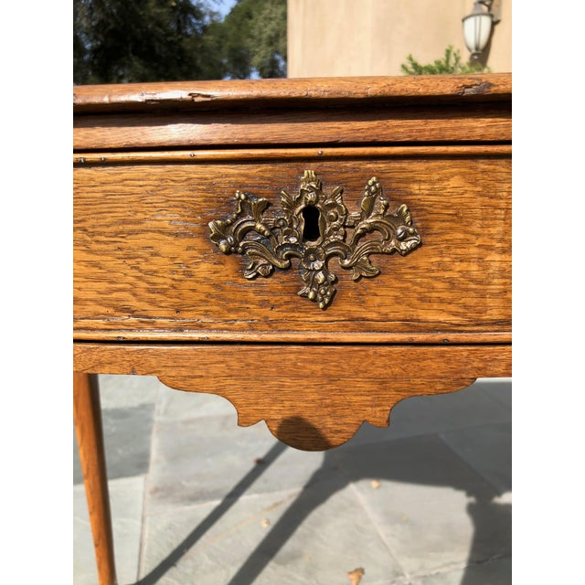 Antique English Side Table For Sale - Image 4 of 7