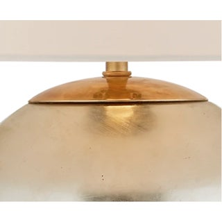 New Circa Lighting Morton Lamps in Burnished Silver Leaf, a Pair Preview