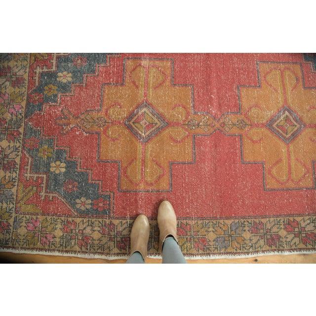 """Vintage Oushak Rug - 4'7"""" x 8'2"""" - Image 2 of 9"""