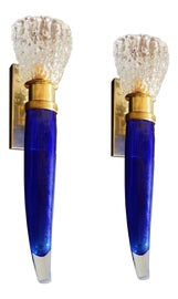 Image of Blue Sconces and Wall Lamps