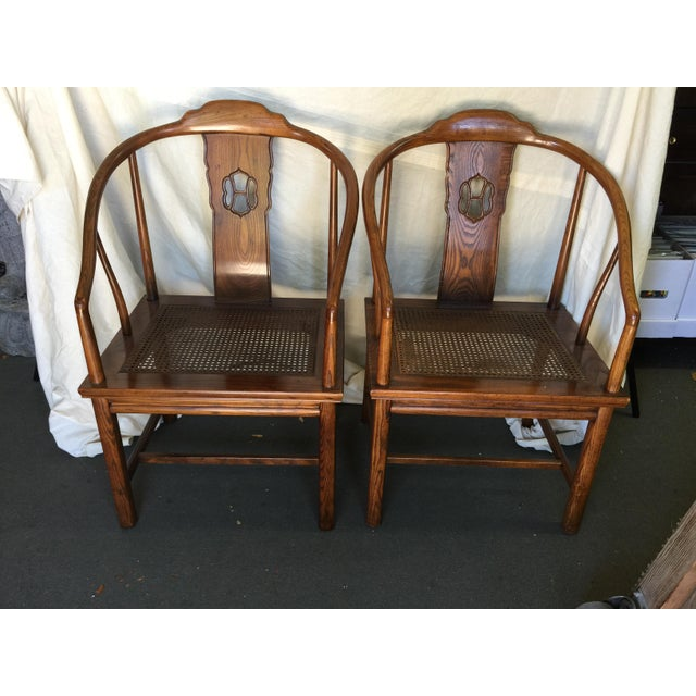 Henredon Chinese Style Chairs - A Pair - Image 2 of 7
