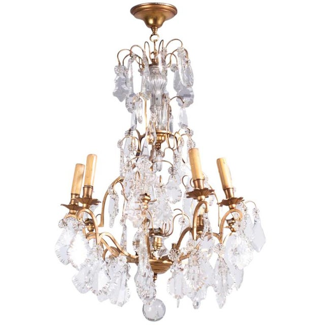 19th Century French Napoleon III Crystal Chandelier For Sale - Image 13 of 13