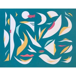 Tro Robinson Rhythm Coast Studio Abstract Paper Collage