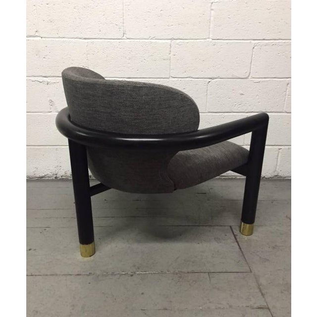 Mid-Century Modern Pair of Sculptural Lounge Chairs For Sale - Image 3 of 6