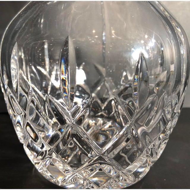 Transparent Vintage Gorham King Edward Crystal Clear Cut Glass Decanter For Sale - Image 8 of 13