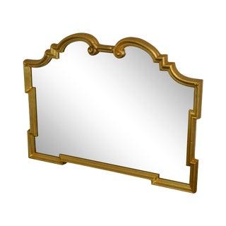 Ethan Allen Italian Gilt Frame Wall Mirror For Sale