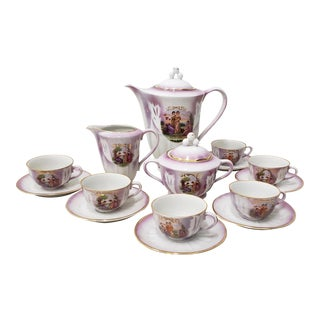 Richard Ginori Children's Tea Set - 17 Pc. Set For Sale