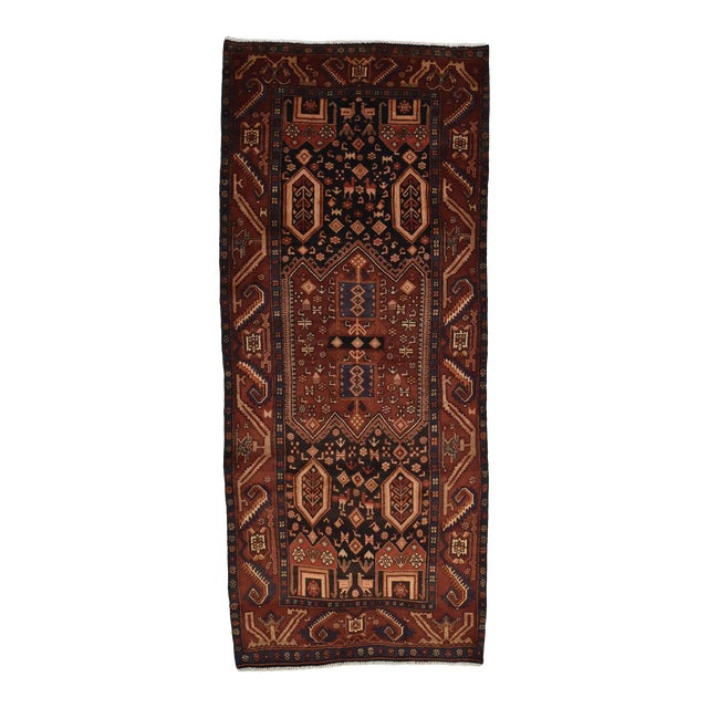 Vintage Persian Koliai Rug - 4'3'' X 10'1'' For Sale
