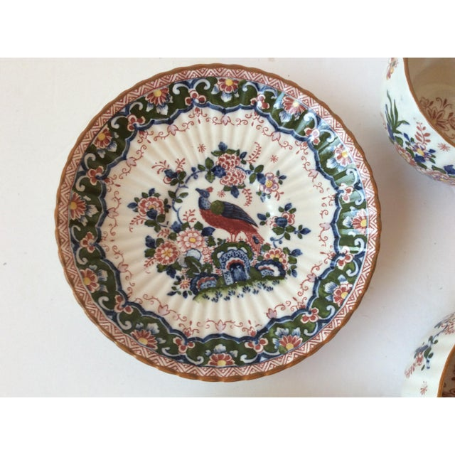 """Booths """"Old Dutch"""" Cup & Saucers - Set of 4 - Image 8 of 11"""