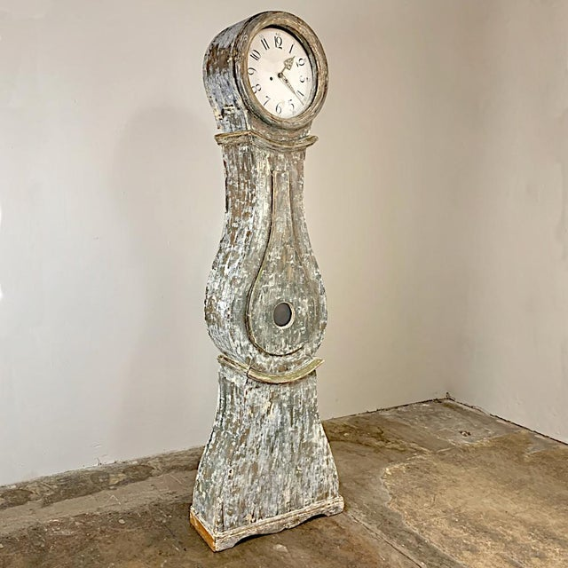 19th Century Swedish Long Case Clock For Sale In Dallas - Image 6 of 13