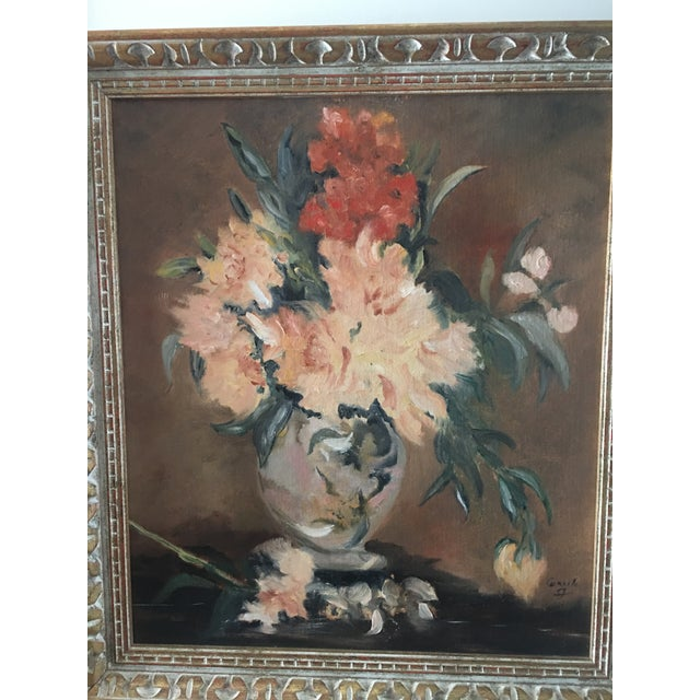 Floral Still Life Oil Painting - Image 5 of 8