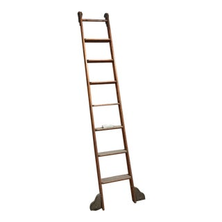 1980's Vintage Putnam Rolling Ladder For Sale