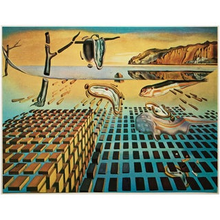 "1957 Salvador Dali ""The Disintegration of the Persistence of Memory"", Original Period Photogravure For Sale"