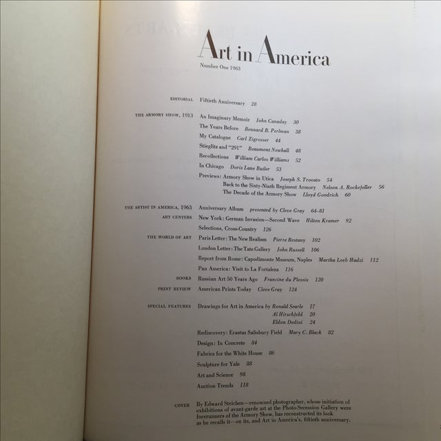 Art in America 1963, 50th Anniversary Edition - Image 4 of 11