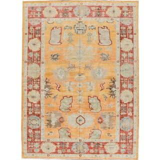 """Sultanabad Wool Rug - 10'1"""" x 13'9"""" For Sale"""