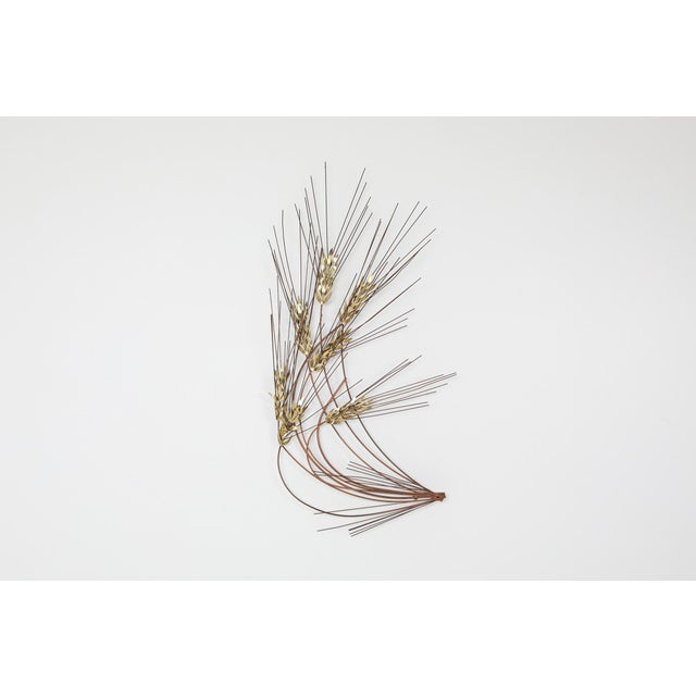Curtis Jere Curtis Jere Brass Wall Mounted Sculpture - 1980s For Sale - Image 4 of 8