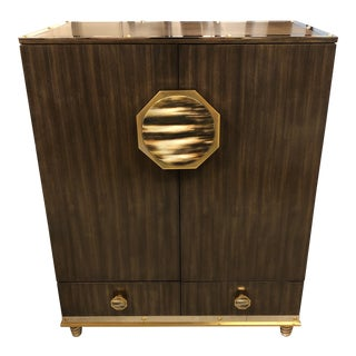 New Henredon Barclay Street Bar Cabinet For Sale
