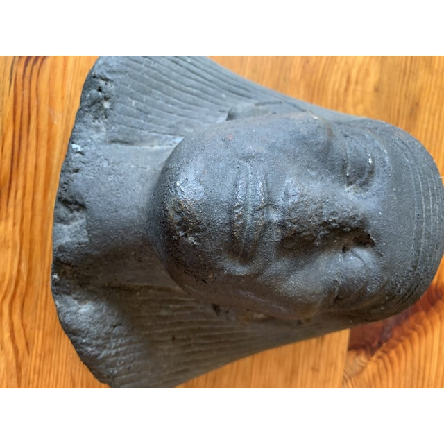 Cast Sphinx Sculpture Egyptian Revival For Sale - Image 4 of 6