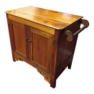 Late 19th Century Antique Cherry Cabinet For Sale