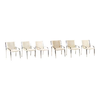 Saporiti Italia Upholstered Chairs - Set of 6 For Sale