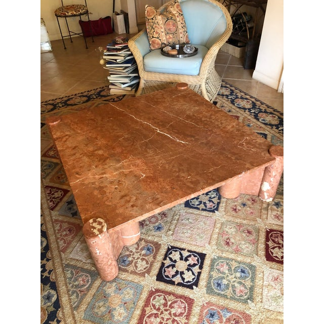 1960s Knoll International Marble Coffee Table - Vintage, Mid-Century For Sale - Image 5 of 10