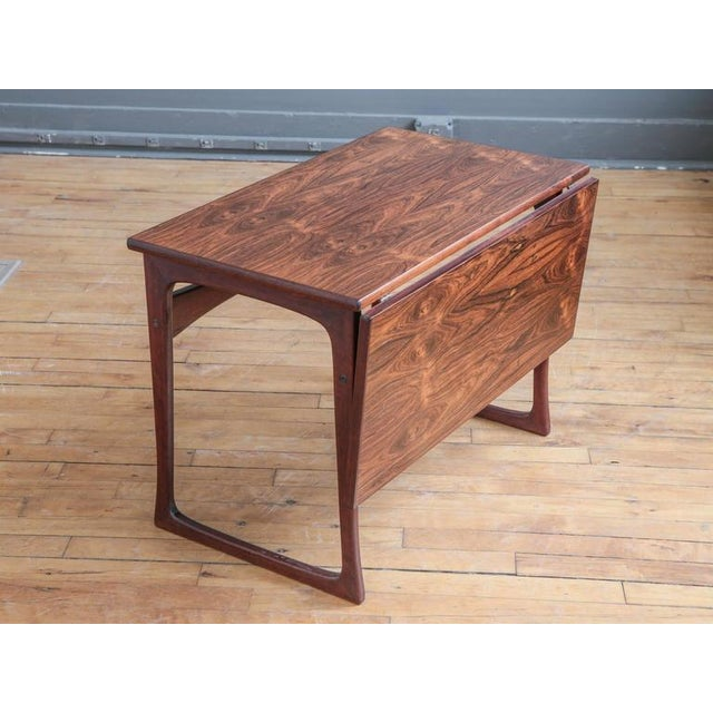 Folding Rosewood Occasional Table by J. Ingvard Jensen - Image 4 of 5