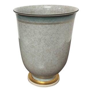 Royal Copenhagen Crackleware Vase