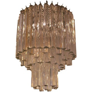 1960s Murano Venini Chandelier For Sale