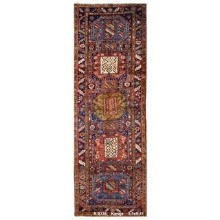 Vintage Persian Karaje Rug - 3'1''x9'11'' For Sale