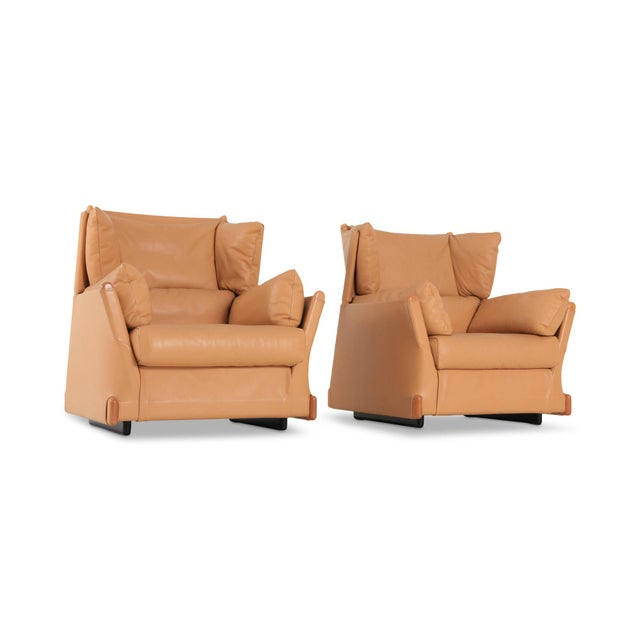 Piero De Martini Viola d'Amore Armchairs for Cassina For Sale - Image 6 of 10