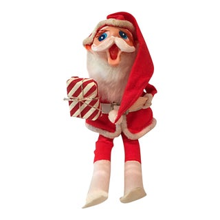 1960s Laughing Santa Ornament For Sale
