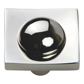 Lex Knob - Polished Nickel For Sale