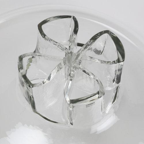 """BARBINI ITALIAN GLASS """"QUATTO FORI"""" VASE, CIRCA 1970S For Sale In New York - Image 6 of 7"""