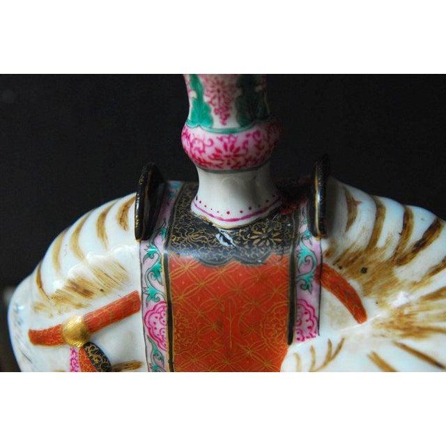 Mottahedeh Porcelain Elephant Candleholders - Set of 4 For Sale - Image 10 of 11