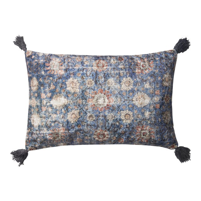 Distressed Moroccan Rug Like Pillows from Kenneth Ludwig Home For Sale