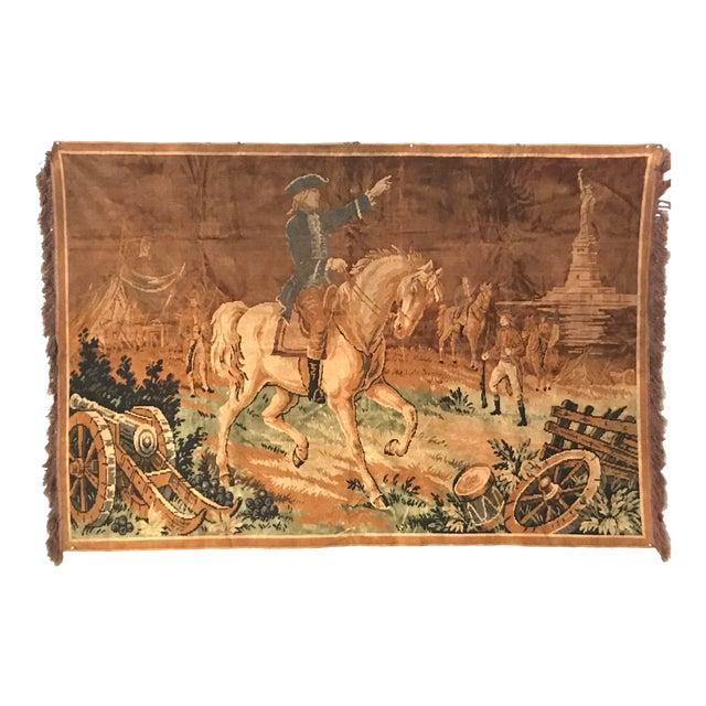 Revolutionary Themed Tapestry - Image 1 of 3