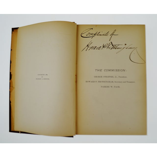 Red 1896 The Birds of New Jersey Book For Sale - Image 8 of 11