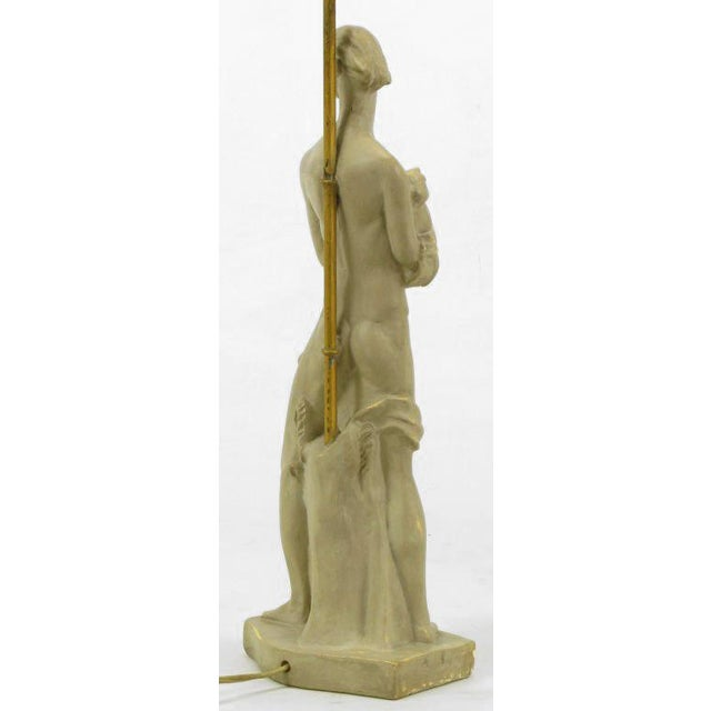 Egyptian Figure Table Lamp by Chapman For Sale In Chicago - Image 6 of 11