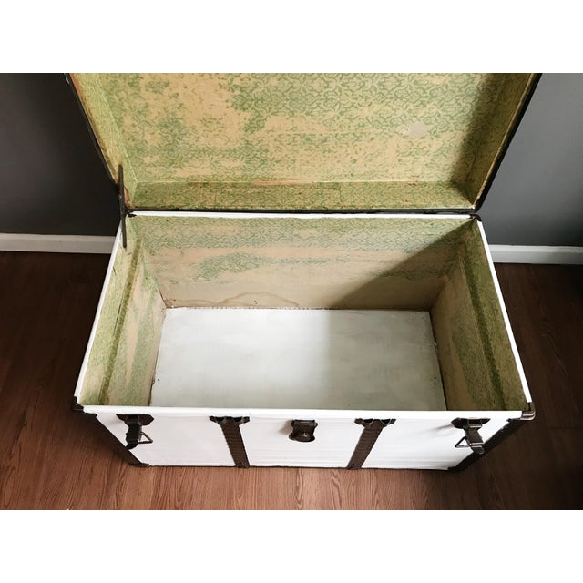 Vintage Steamer Trunk Table - Image 8 of 8