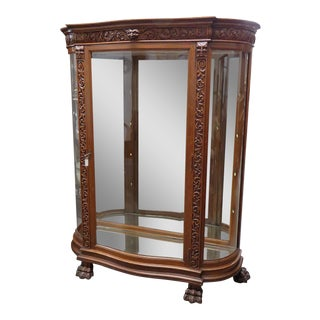 Horner Style China Display Cabinet
